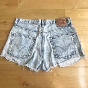 Levi's 569 Shorts Loose Straight High Waist Jean
